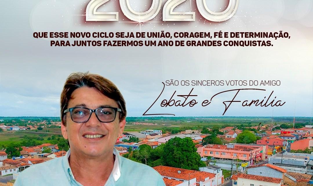 Ex-prefeito Dr Lobato lança mensagem de ano novo a todos os Helenenses, confira