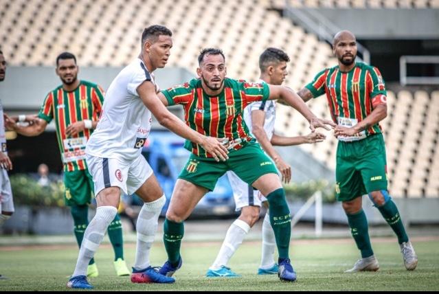 Sampaio e Juventude-MA ficam no empate em jogo preparatório para o Campeonato Maranhense