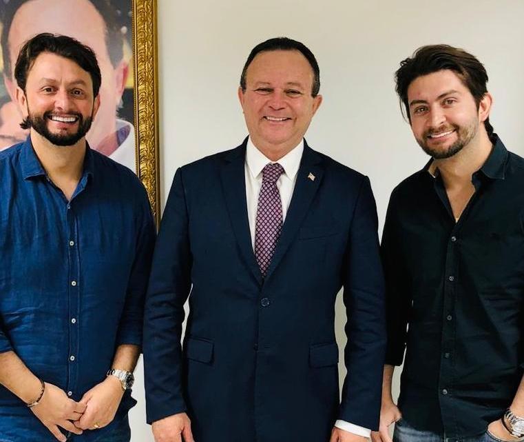 Deputado estadual Leonardo Sá reune-se com o Vice-Governador na capital maranhense