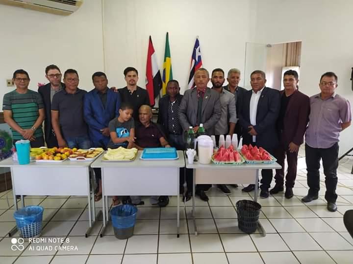 Vice-prefeito Gonzaga Ferraz participa da primeira sessão de 2020 da câmara de vereadores de Turilândia/MA