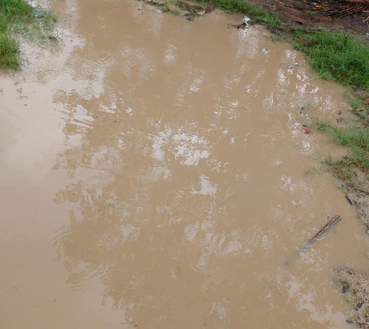 Descaso – Moradora denuncia precariedade de rua no distrito de Queimadas município de Santa Helena