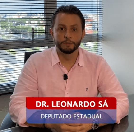 Deputado Dr. Leonardo Sá alerta sobre o Coronavírus