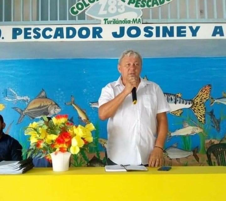 Vice-prefeito Gonzaga Ferraz, emite nota de pesar pelo falecimento do Presidente da Colônia de Pescadores do município de Turilândia-MA