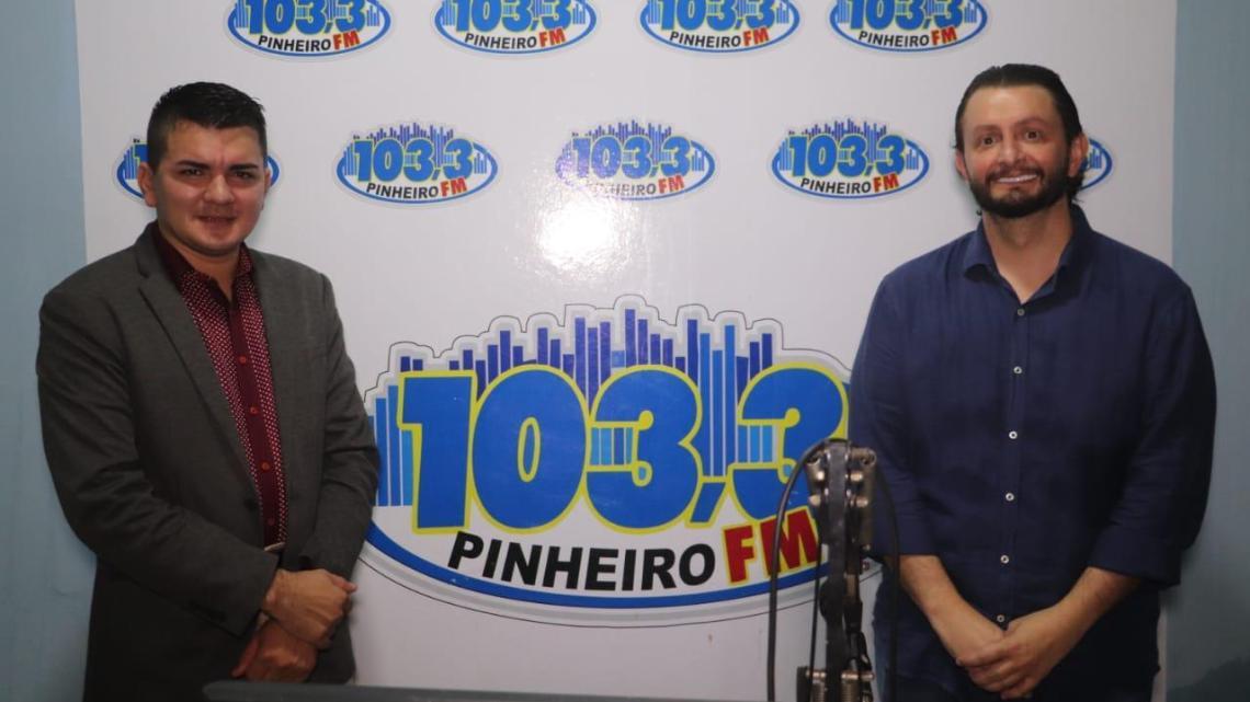 Leonardo Sá denúncia a falta de infraestrutura na rede municipal de saúde em Pinheiro
