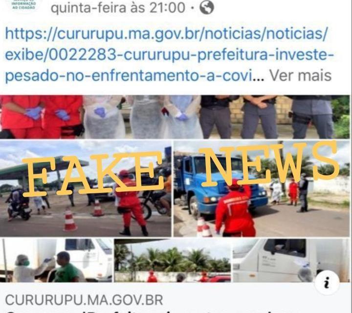 Descaso – Bombeiros civis de Cururupu são descartados pela prefeita Rosinha, após trabalharem voluntariamente três semanas no combate a COVID-19 no município