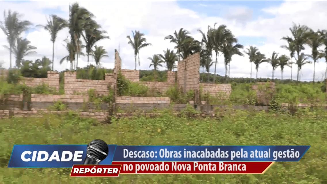 Veja o vídeo – Moradores do povoado Nova Ponta Branca denunciam obra abandonada pela prefeitura de Pinheiro, e dizem serem esquecidos pela gestão de Luciano Genésio
