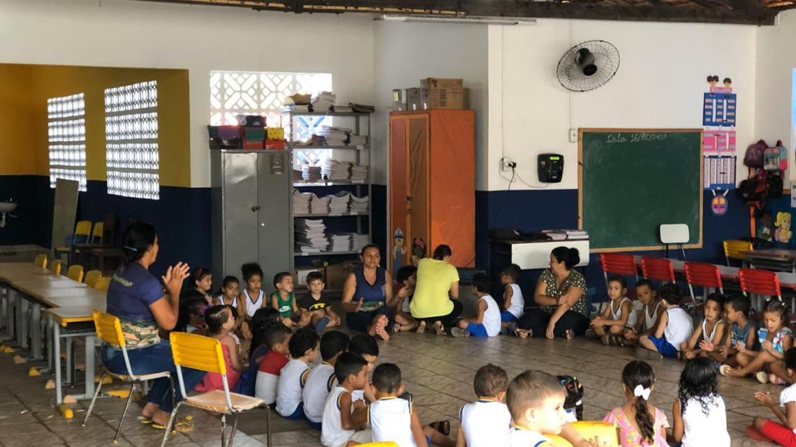 Peri-Mirim / Prefeito Geraldo Amorim reforma todas as escolas do município, para garantir conforto e educação de boa qualidade