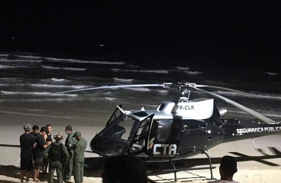 Kitesurfistas são resgatados após acidente na orla de São Luís