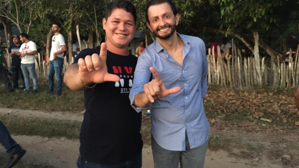 Pré-candidato a vereador Ladeilson Rodrigues, cumpre agenda ao lado de Leonardo Sá em Pinheiro