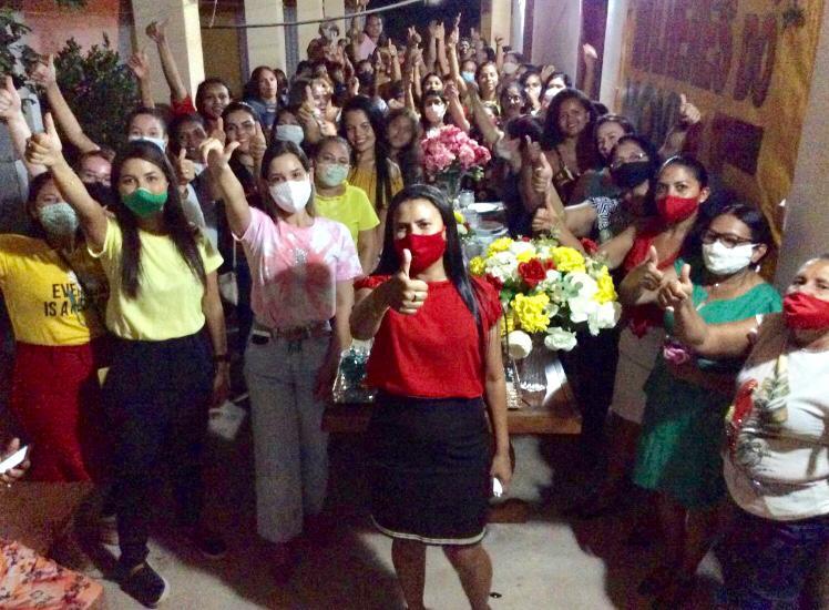Mulheres do movimento 65 de Pedro do Rosário, dão a largada na pré-campanha de Toca Serra e Fábio Mendes