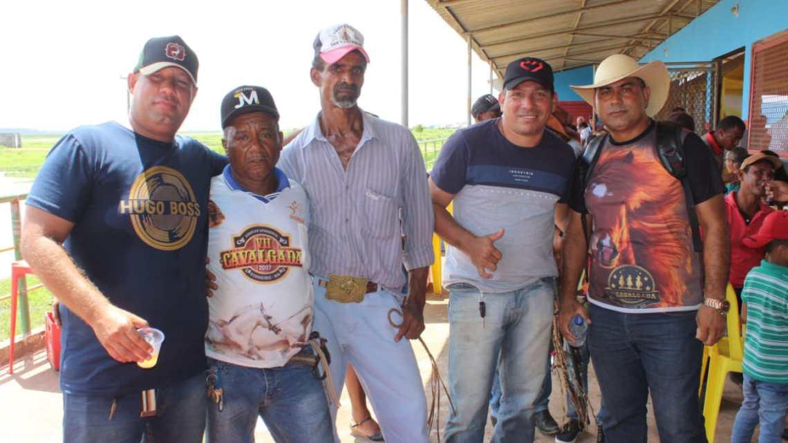 Vereador eleito Jaelson Araújo, participa da décima edição da cavalgada do Sereno em Pinheiro