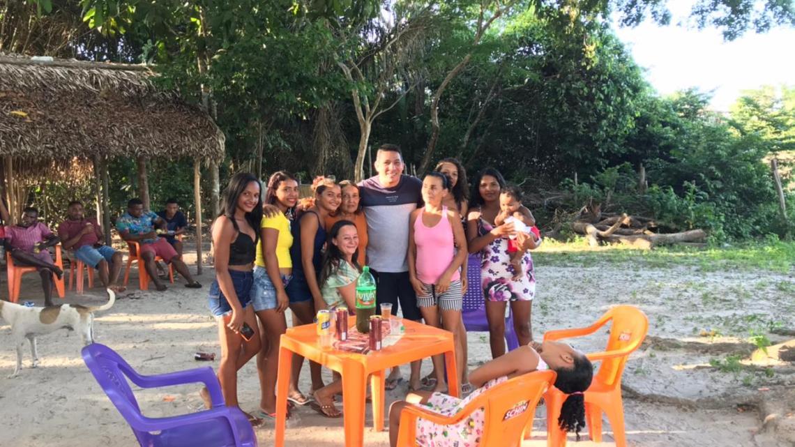 Pinheiro – Vereador jaelson Araújo visita povoado Livramento, agradece votação expressiva, ouve demandas e participa de confraternização com moradores