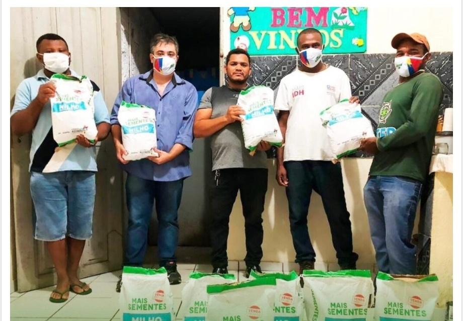 AGERP regional Pinheiro faz entrega de sementes para Agricultura Familiar no Município de Turilândia.