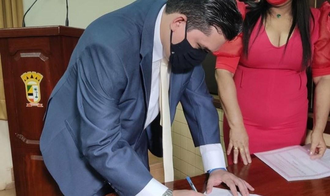 Vereador Felipe de Chicão é eleito membro da comissão de educação, cultura, saúde e assistência da Câmara Municipal de Pinheiro