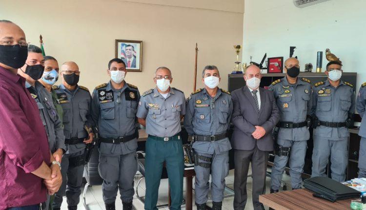 Comandante geral da PMMA, reúne-se com coronéis e apresenta novo subcomandante geral