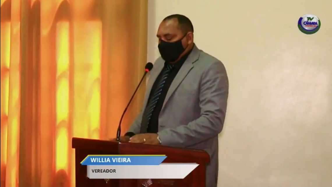 Na tribuna da Câmara, vereador William Vieira denuncia caos na infraestrutura do residencial Bom Viver em Pinheiro
