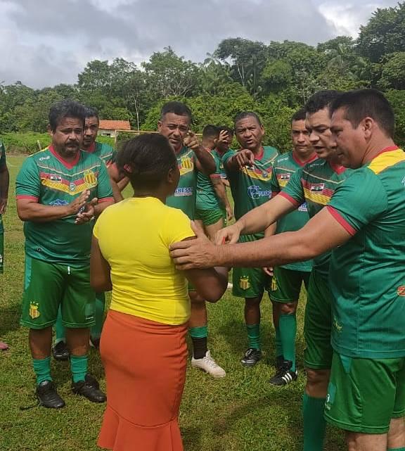 Vereador Jaelson Araújo e Sampaio Master Pinheirense, participam de torneio beneficente no povoado Santana dos Pretos zona rural de Pinheiro