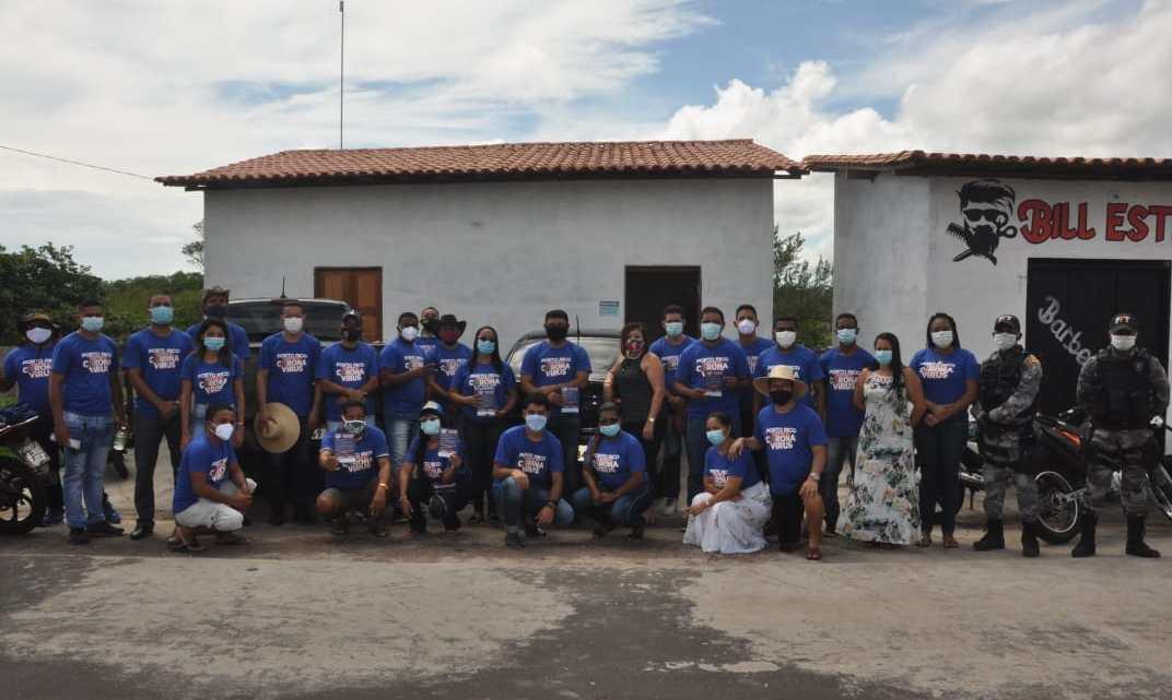Prefeitura de Porto Rico realiza campanha de conscientização no combate ao coronavírus