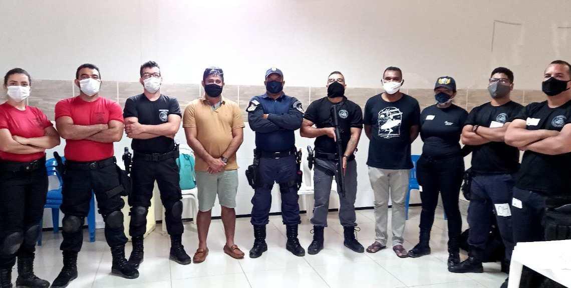 Guarda Municipal de Pedro do Rosário recebe Curso de Aperfeiçoamento