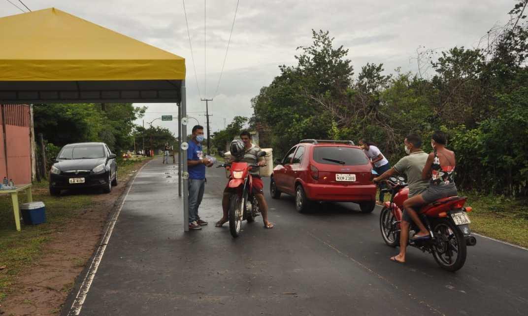 Como medida de combate à Covid-19, prefeitura de Porto Rico instala barreira sanitária na entrada da cidade e endurece fiscalização em todo Município