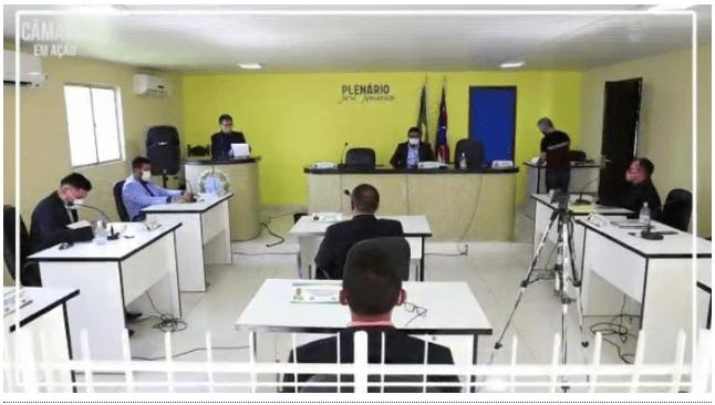 Vereadores de São Vicente Ferrer também aprovam mudanças nos horários e dias das sessões semanais