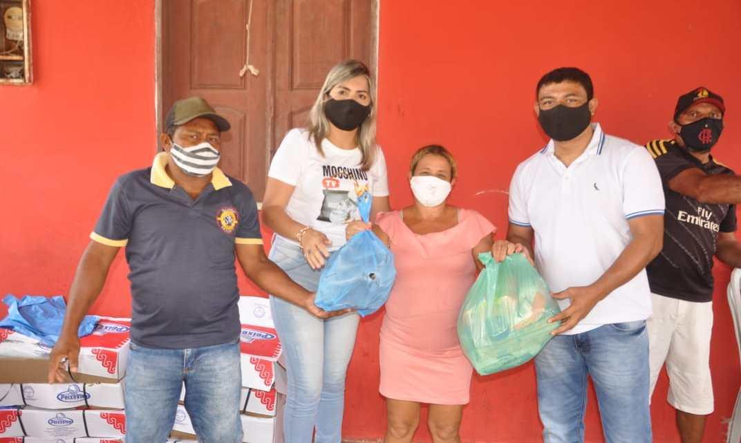 Prefeitura de Porto Rico distribui 3 toneladas de peixes e 600 cestas básicas, para famílias carentes do Município na sexta-feira Santa
