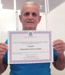 Câmara Municipal de Pinheiro, recebe requerimento que pede afastamento do Vereador Herasmo Leite