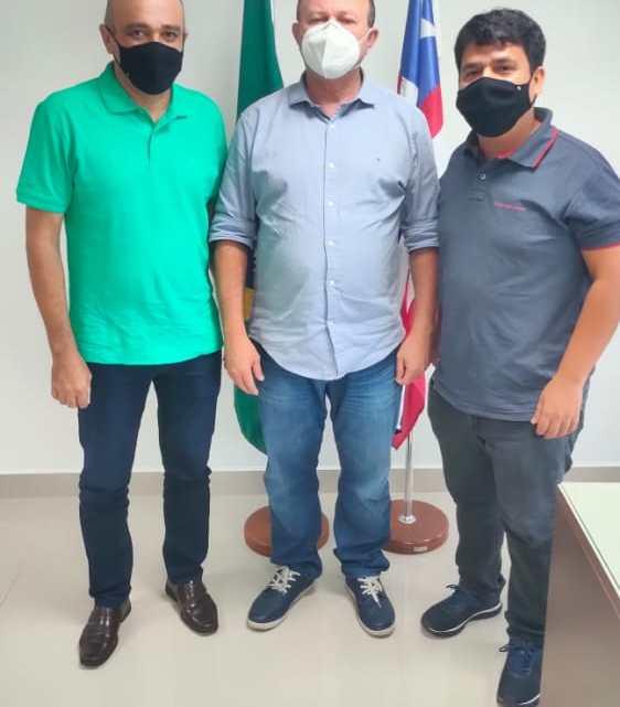 Vice-prefeito Fábio Mendes busca mais ações do Governo do Estado para Pedro do Rosário junto ao Vice-governador, Carlos Brandão
