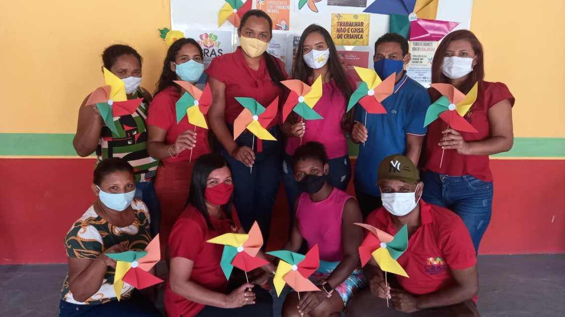 Prefeitura de Pedro do Rosário realiza ações alusivas ao dia mundial contra o trabalho infantil