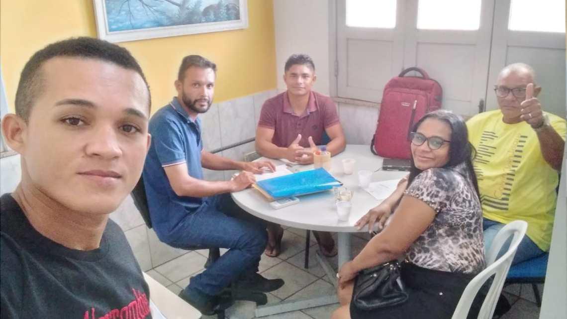 Reunião discute execução de tarefas, e fiscalização da lei Municipal que proíbe a pesca predatória em Porto Rico do Maranhão