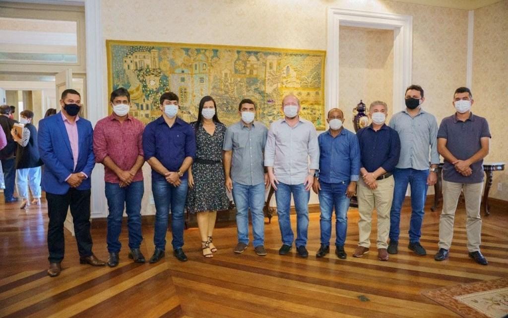 Toca Serra participa do encontro de prefeitos do PCdoB com o Governador Flavio Dino e o Presidente Othelino Neto