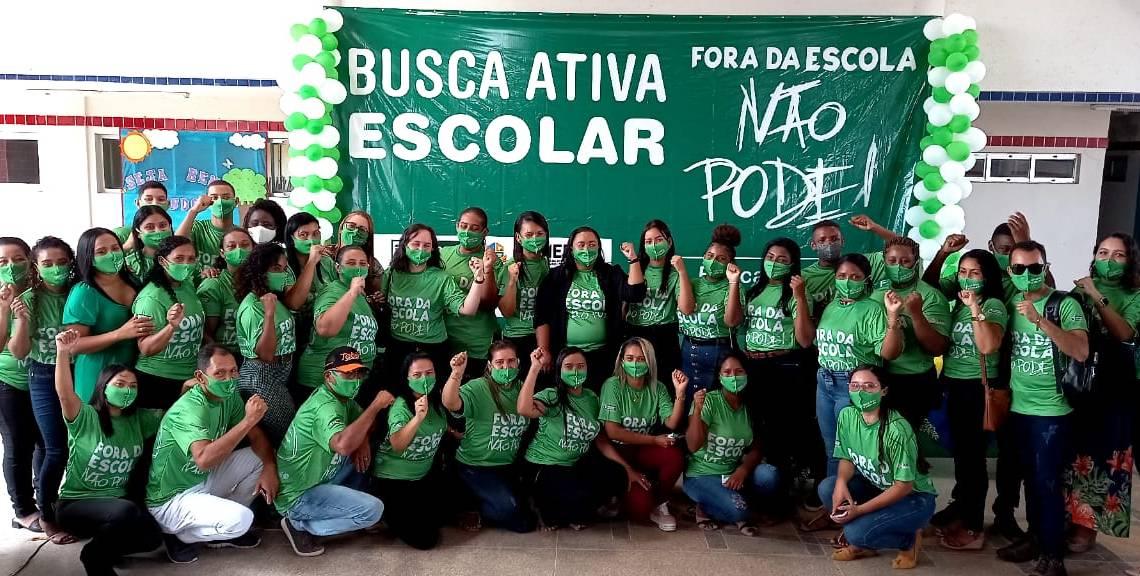 Prefeitura de Pedro do Rosário realiza ato de formalização do Programa Busca Ativa Escolar