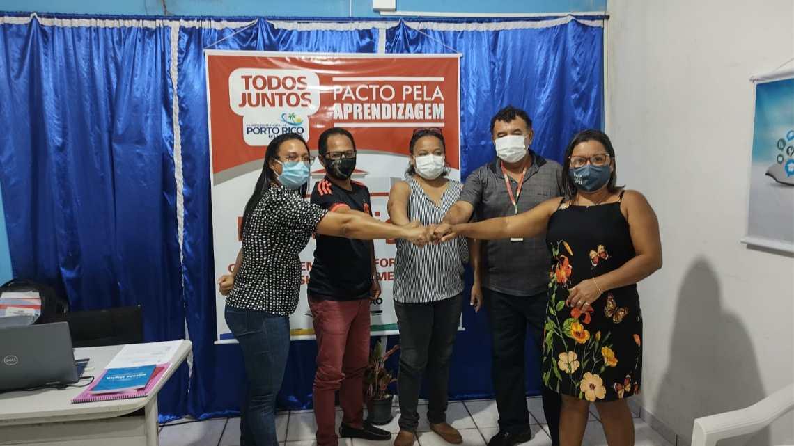 Prefeitura celebra convênio com o IFMA para a implantação de um Polo Universitário em Porto Rico do Maranhão