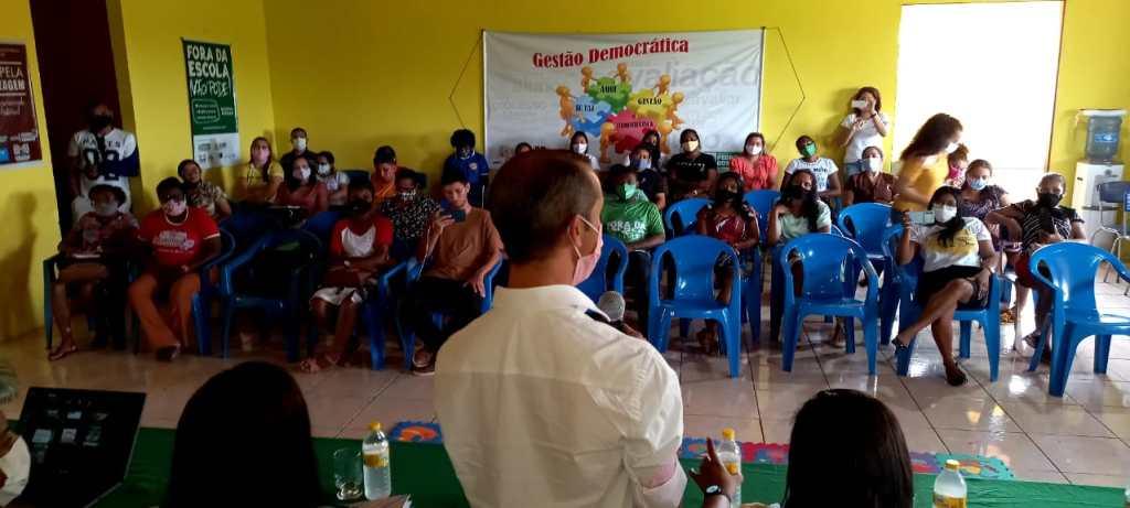 Prefeitura de Pedro do Rosário, promove Educação especial e inclusiva