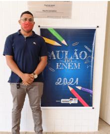 Presidente da Câmara Prof. Zeca, prestigia Aulão do Enem no Município de São Vicente Ferrer