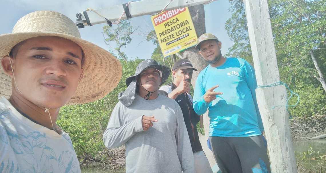 Prefeitura de Porto Rico do Maranhão segue intensificando trabalho de combate à pesca predatória no Município