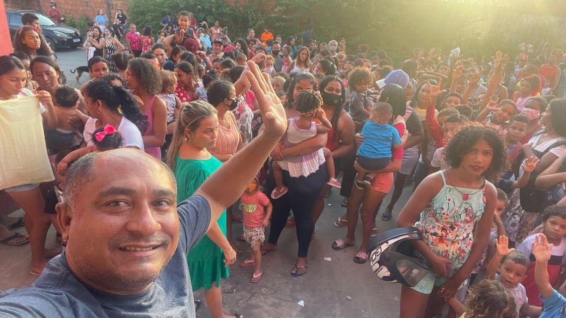 Empresário Júnior Passinho, realiza festa das crianças com uma grande programação no Município de Raposa