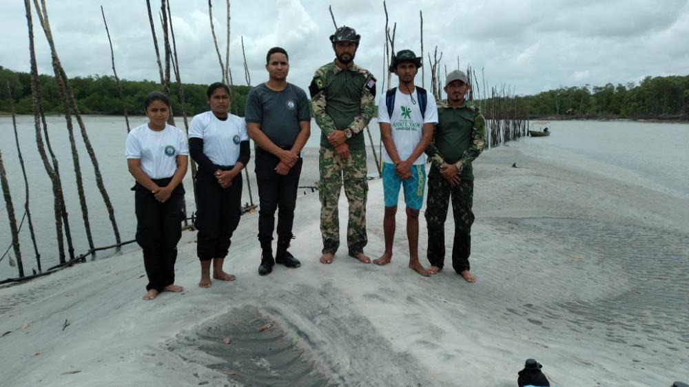 Ação conjunta da secretaria Municipal de Meio Ambiente, AJA e FORTAM, intensifica fiscalizações no combate à pesca predatória em Porto Rico do Maranhão