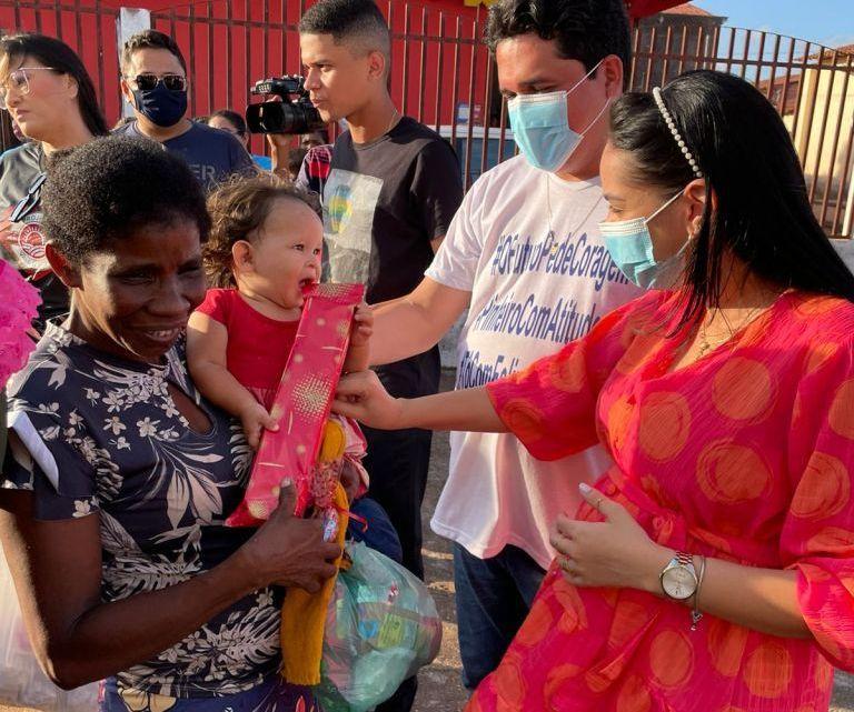 Vereador Felipe de Chicão realiza mega festa para crianças Pinheirenses