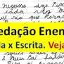 Redação Enem E Gramática Linguagem Oral E Escrita