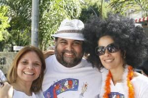 Jo Nunes, Eu e Claudia Holanda no Plumas e Paetês