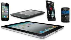 smartphones, tablets e Facebook