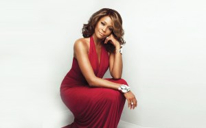 Whitney Houston Wallpaper @ go4celebrity.com