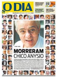 Jornal O Dia capa