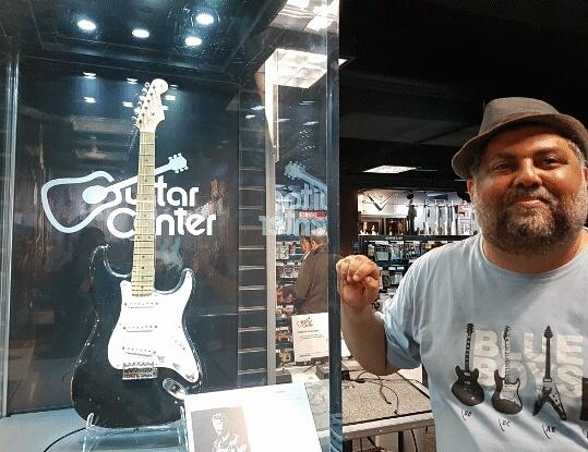 Venda de guitarras despenca 80% em cinco anos no Brasil