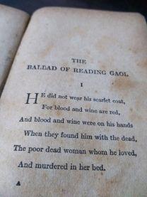 Edição de 1921 do poema, editado por Robert Ross (foto minha, eu tenho o livro)