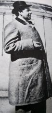 Wilde em 1897 em Nápoles, após sair da prisão (reprodução)