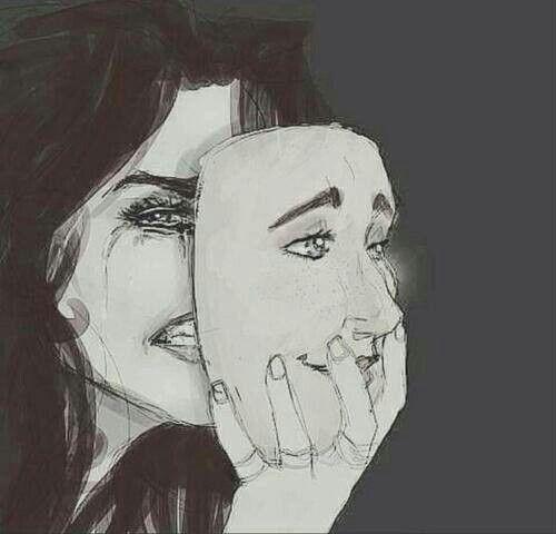 Estamos tão acostumados a nos disfarçar para os outros, que no fim acabamos nos disfarçando para nós mesmos