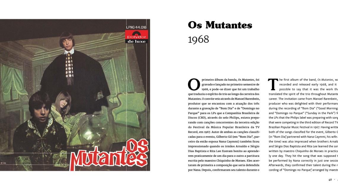 Os Mutantes ganham sua discobiografia
