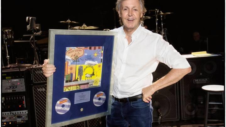 Parabéns, Paul McCartney, por mais um nº 1